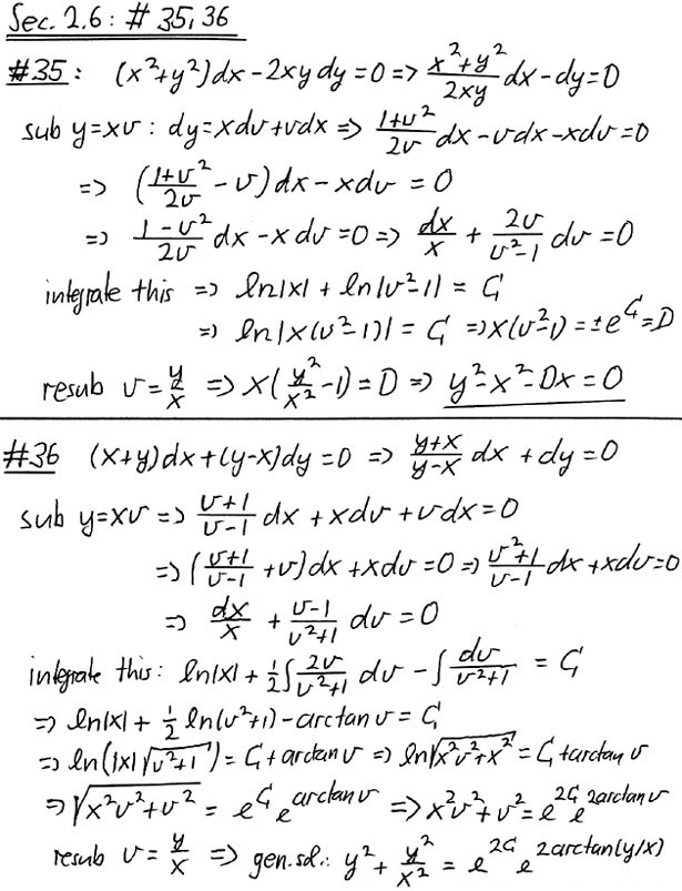 Math 340: An Introduction to Ordinary Differential Equations